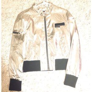 Silver Women's Jacket